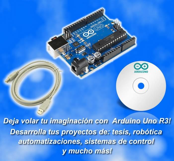 COMBO ARDUINO SOLUCIONES ELECTRONICAS RL